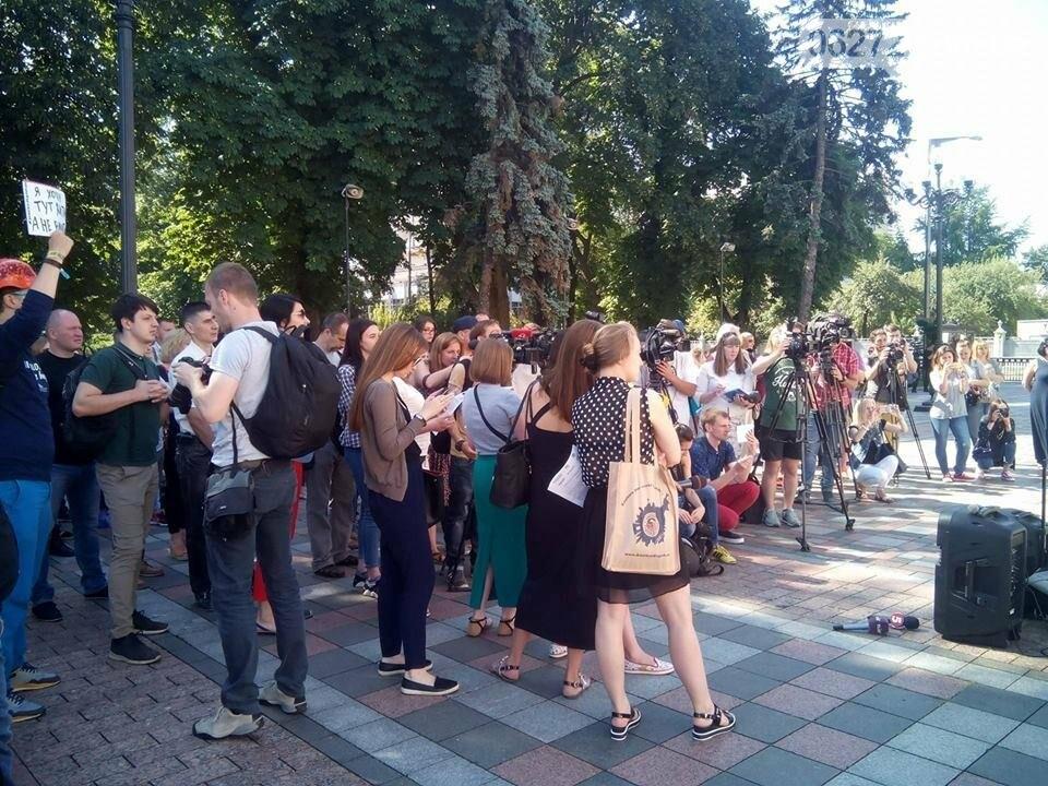 В Киеве проходит акция в поддержку медреформы, среди участников - активисты из Донбасса, фото-2