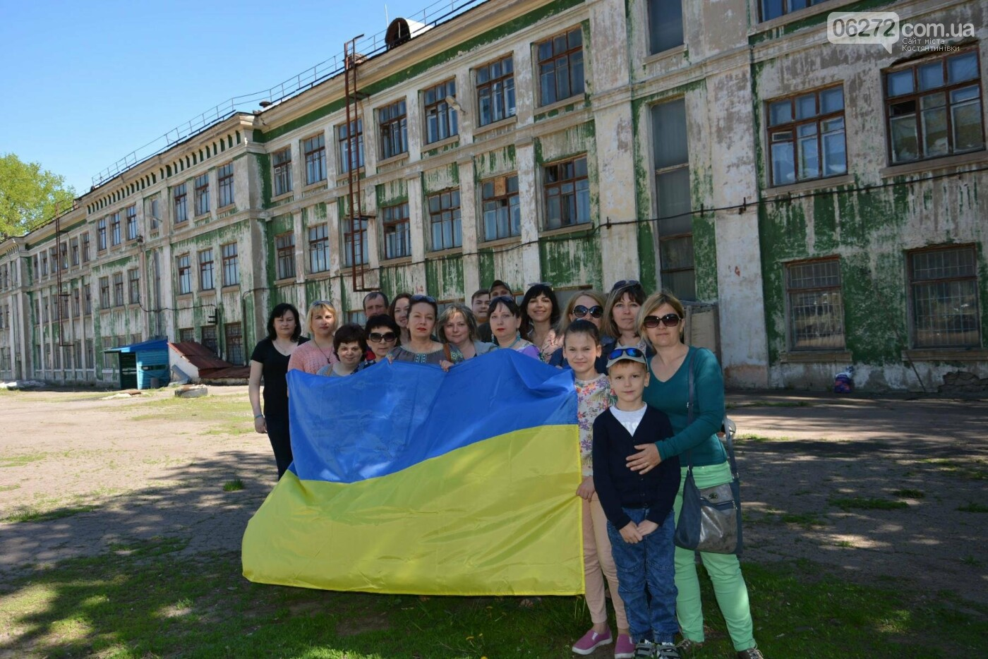 Прапор України на честь Сергія Ісаєва підняли його друзі у Костянтинівці, фото-1