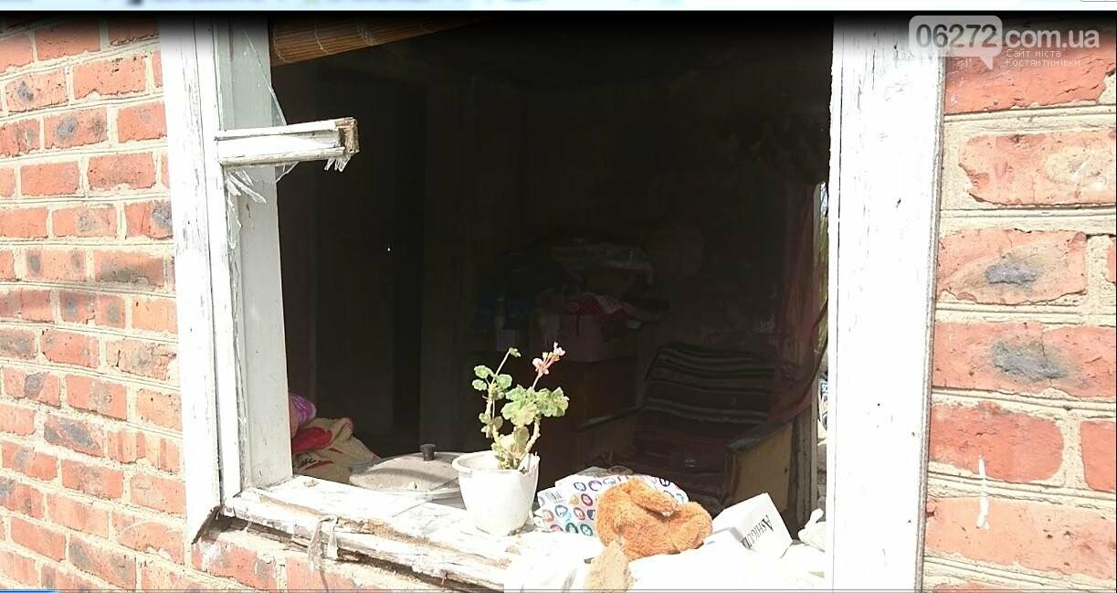 Родина з Торецька просить про допомогу – снаряд влучив у їхній будинок, фото-1