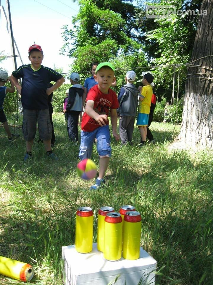 Спортивно-развлекательная программа Константиновского ЦДЮТ для воспитанников  5 школы, фото-4
