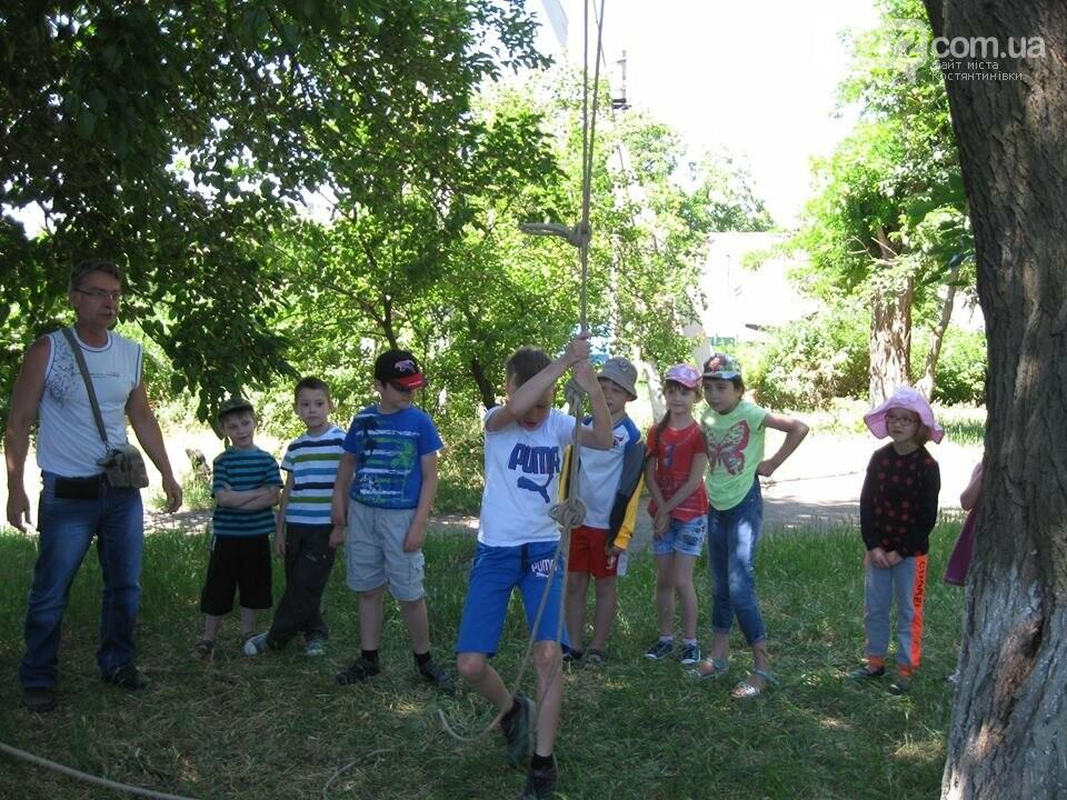 Спортивно-развлекательная программа Константиновского ЦДЮТ для воспитанников  5 школы, фото-1