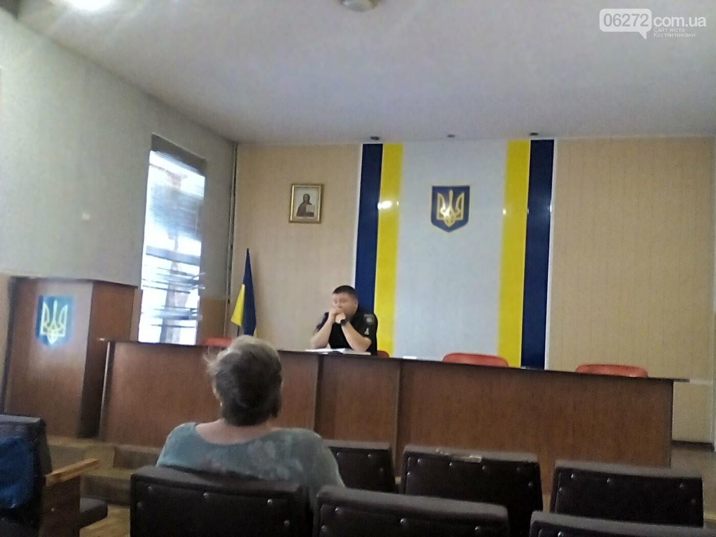 Начальник полиции Константиновки рассказал о результатах работы за неделю, фото-1
