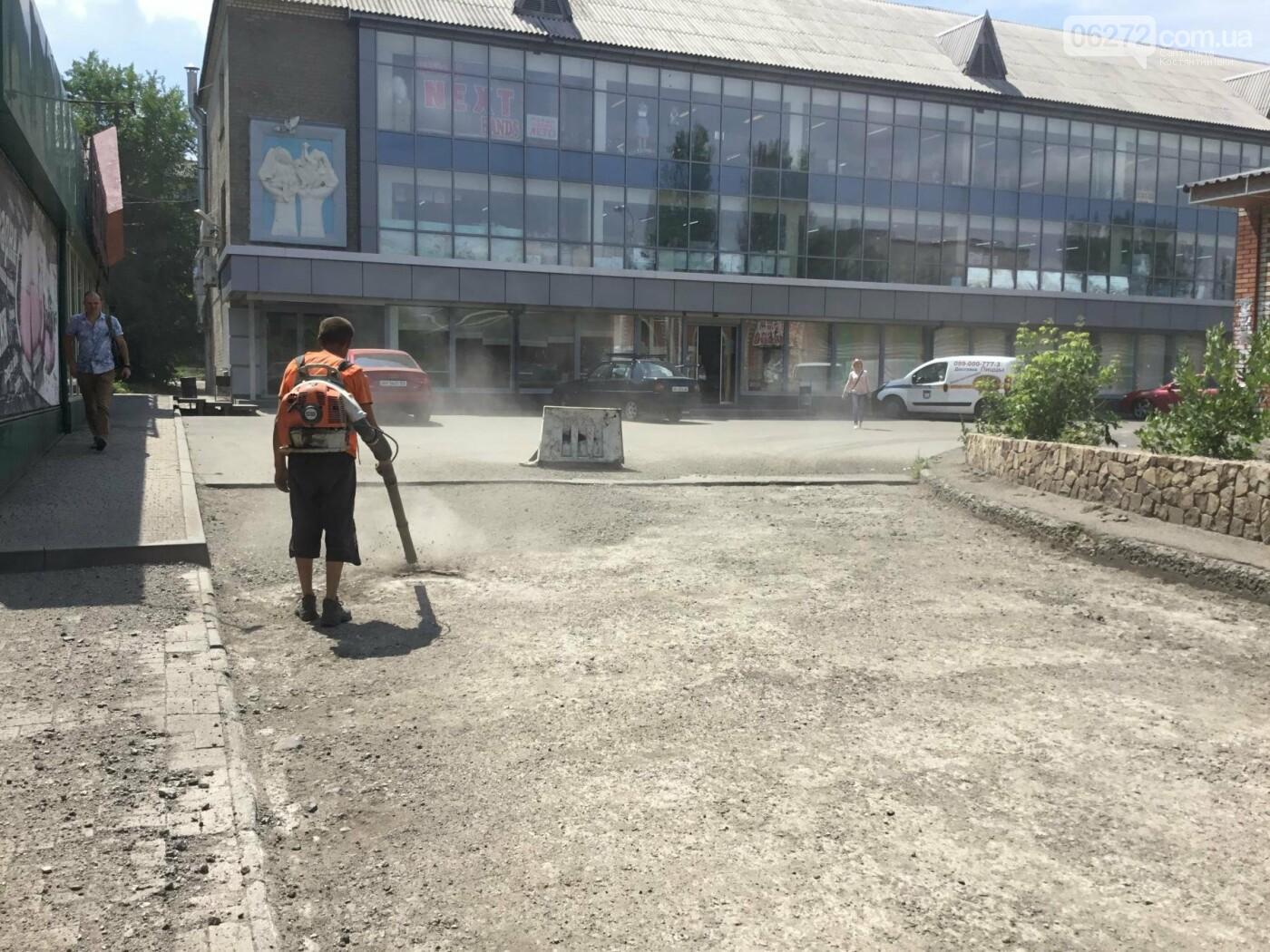 В Константиновке ремонтируют дорогу, фото-10