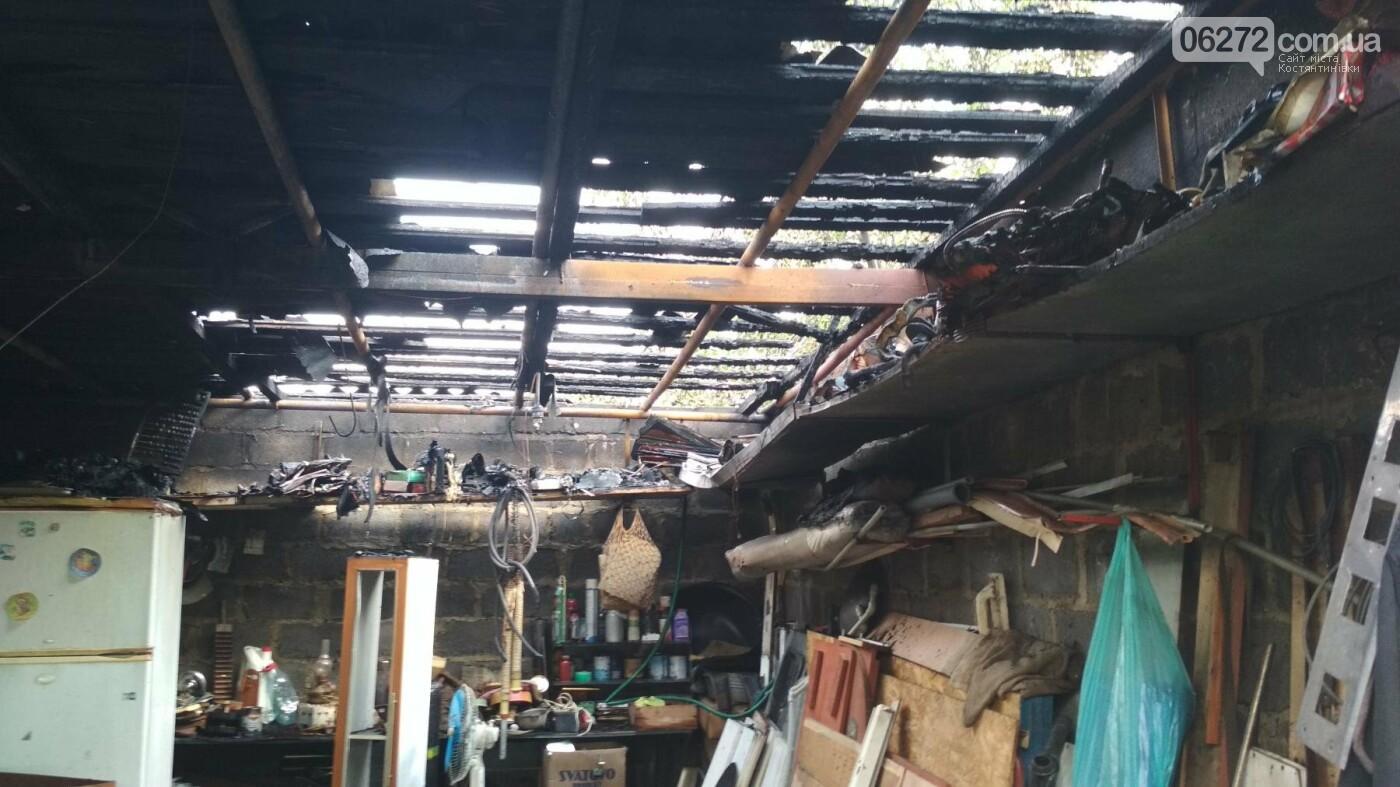 У Костянтинівці від пожежі вщент згоріла вбиральня, фото-3