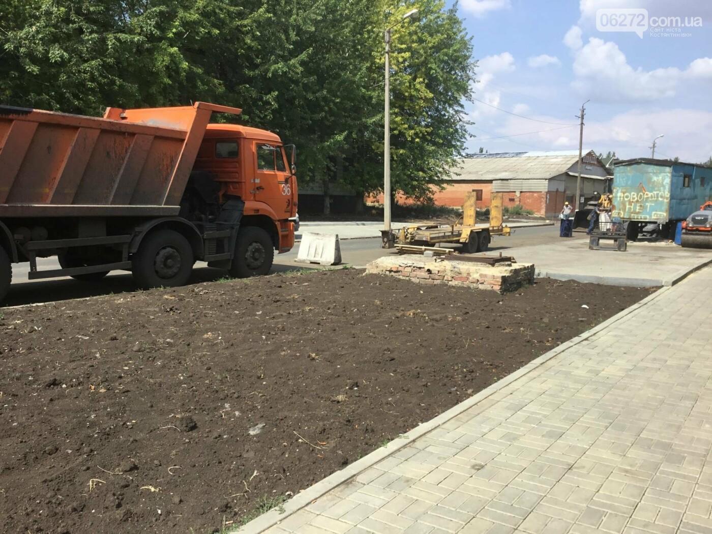 В Константиновке продолжают ремонт дорог, фото-12