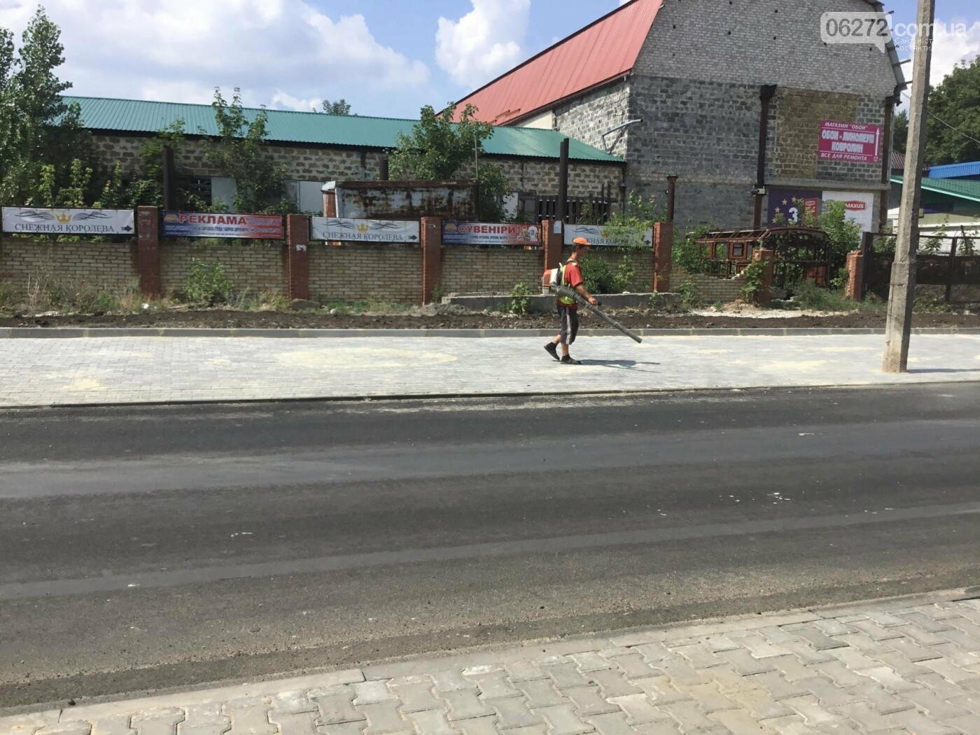 В Константиновке продолжают ремонт дорог, фото-7