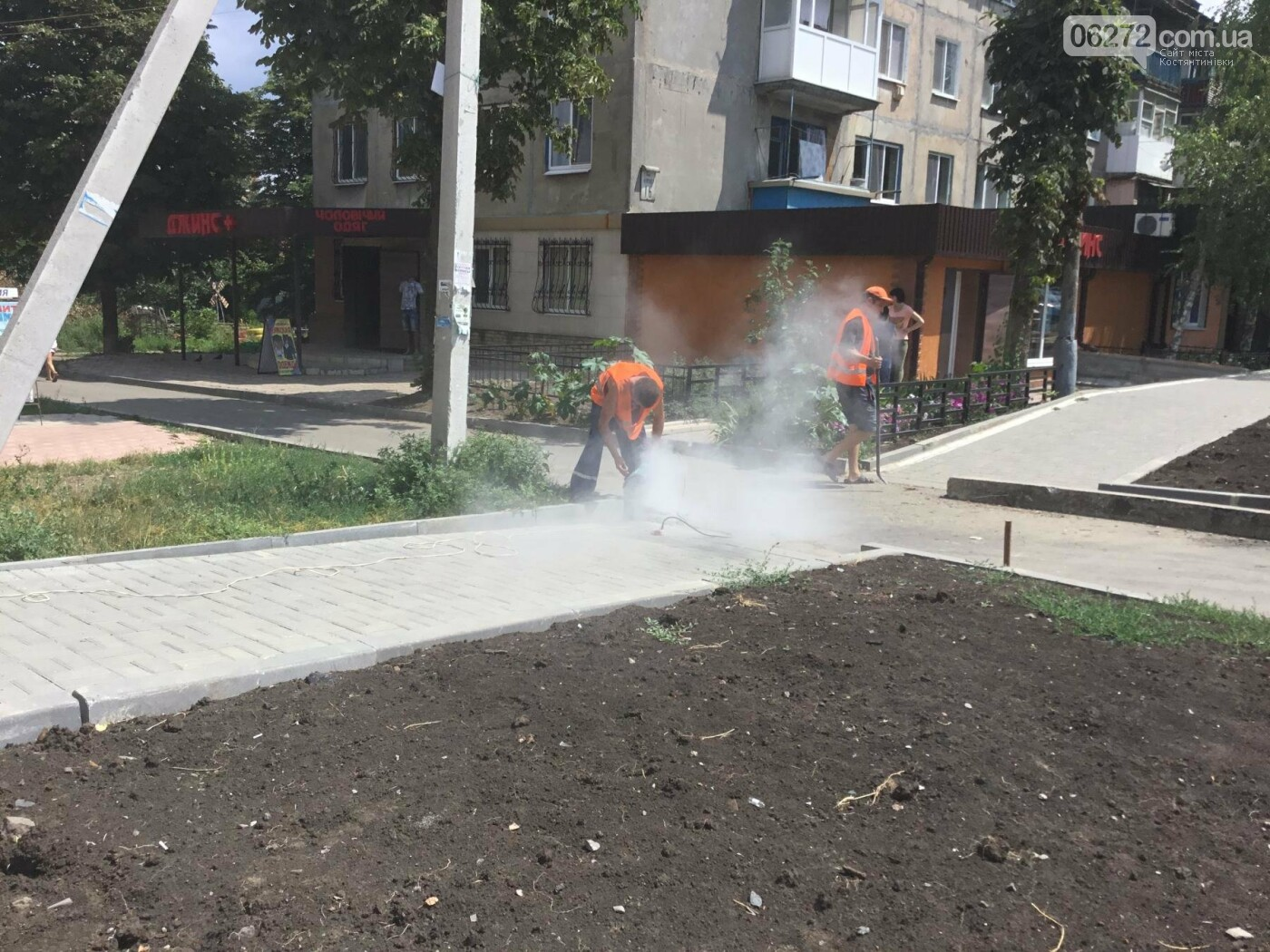 В Константиновке продолжают ремонт дорог, фото-11