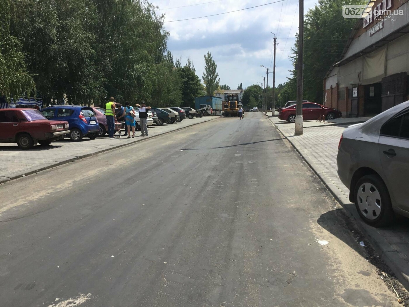 В Константиновке продолжают ремонт дорог, фото-2