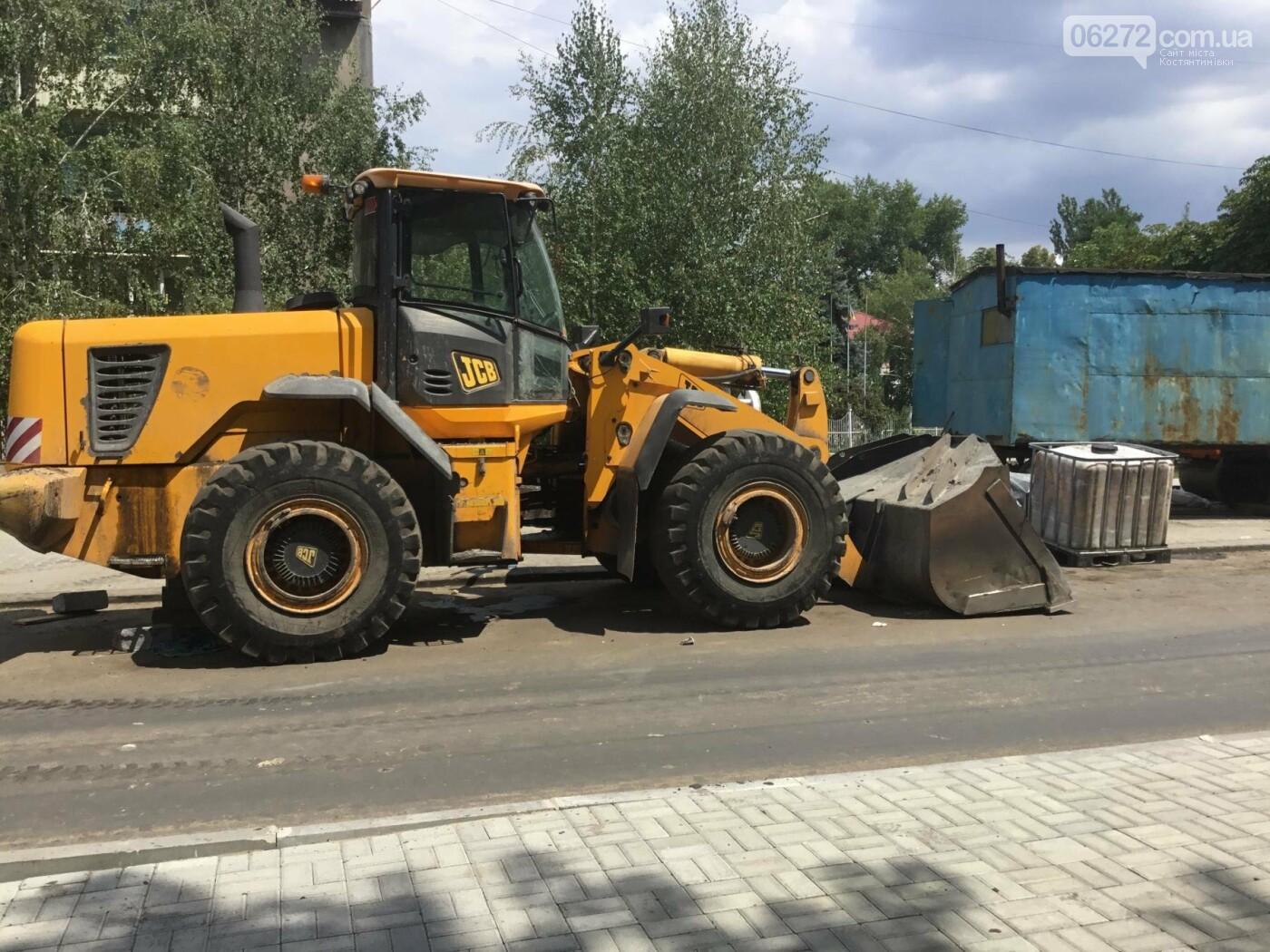 В Константиновке продолжают ремонт дорог, фото-8