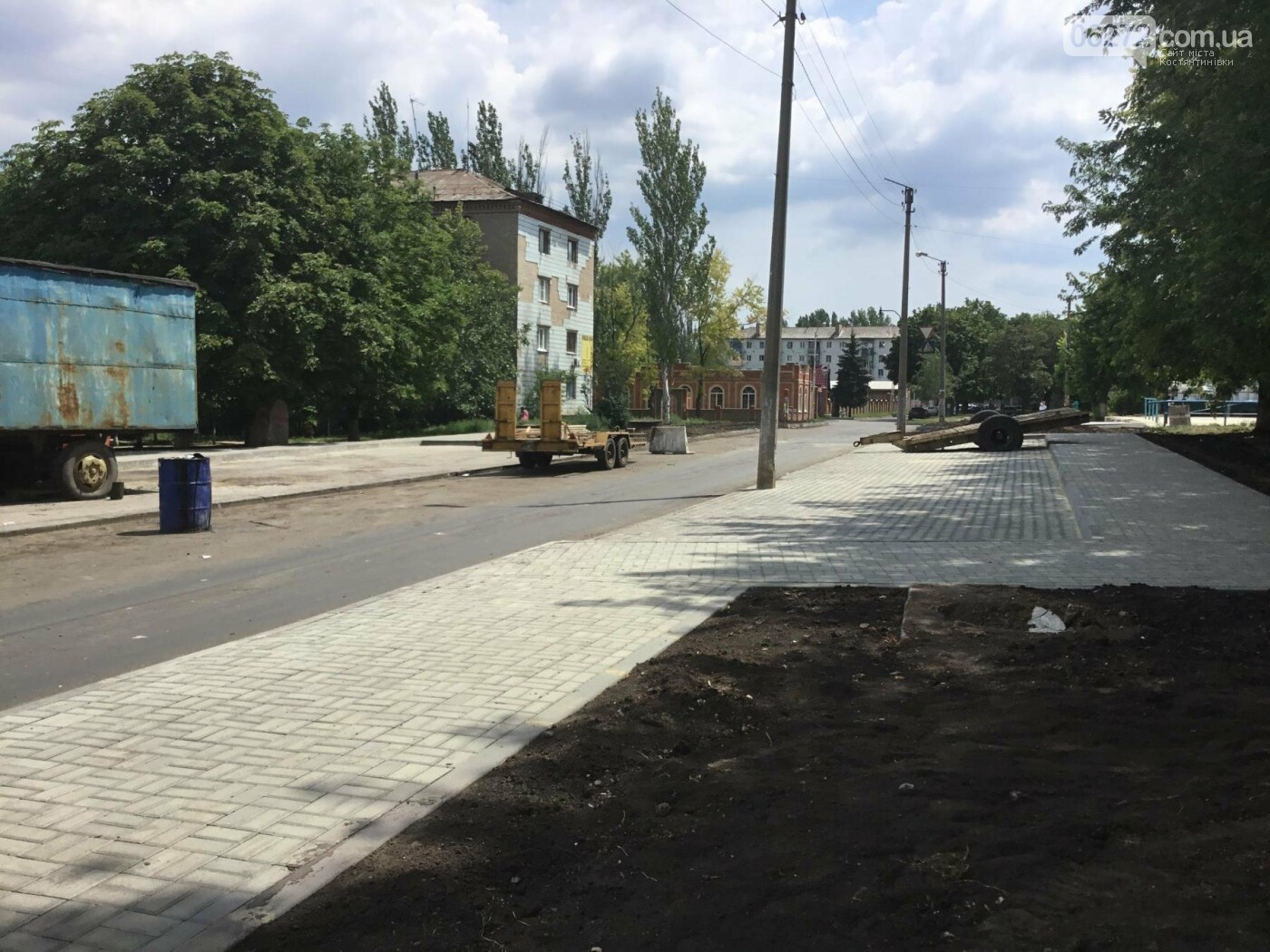 В Константиновке продолжают ремонт дорог, фото-3
