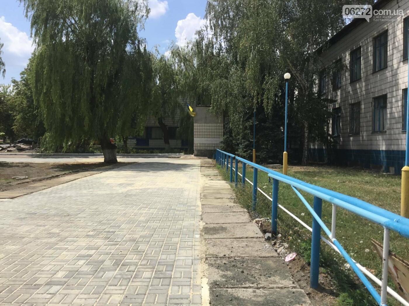 В Константиновке продолжают ремонт дорог, фото-13