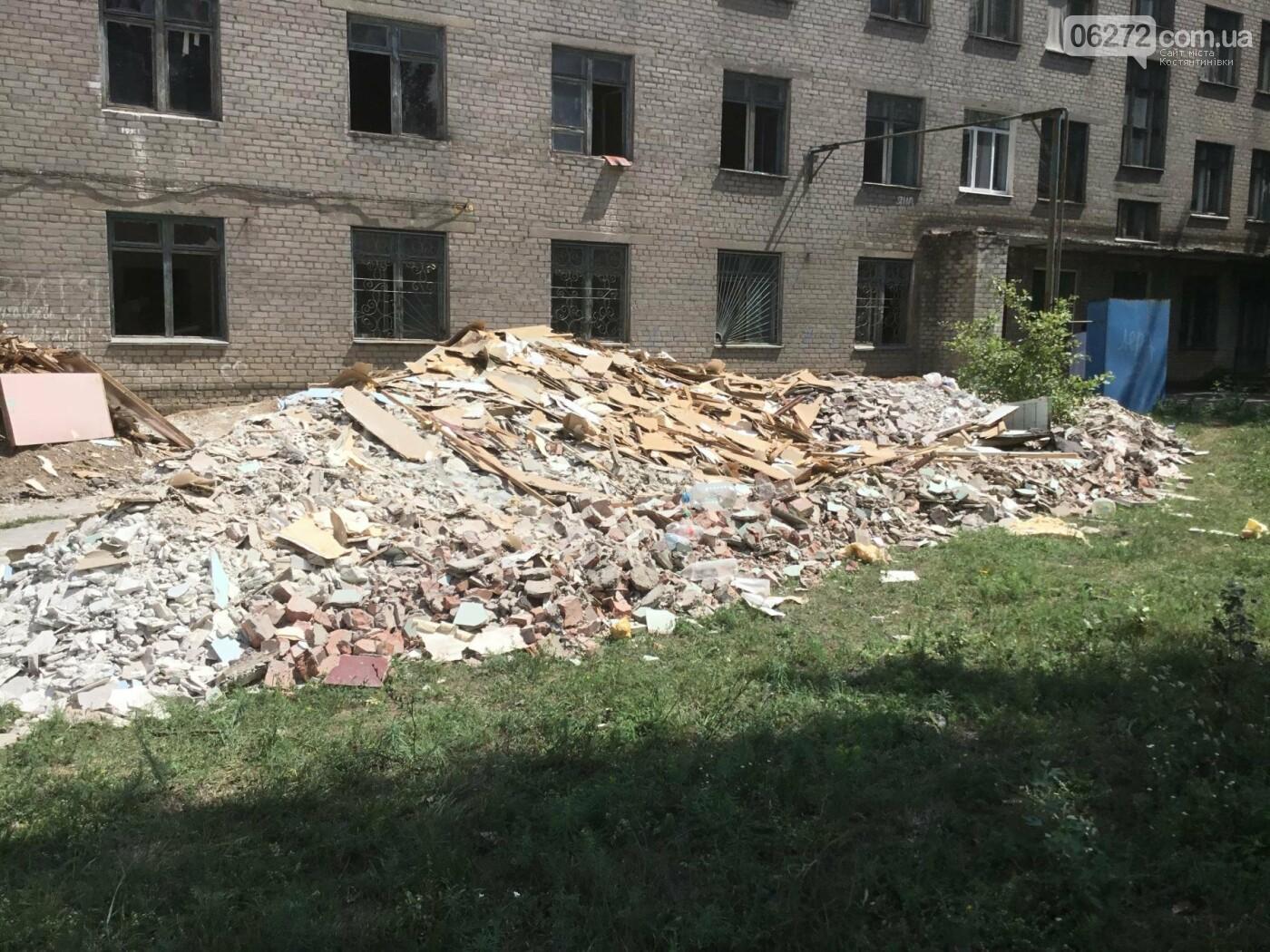 У Костянтинівці ремонтують пологовий будинок, фото-4