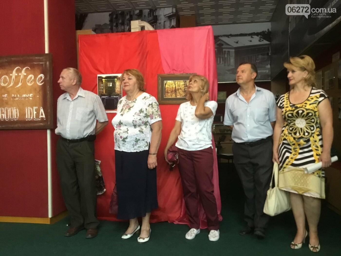 В Константиновке открылась выставка свободного художника, фото-15