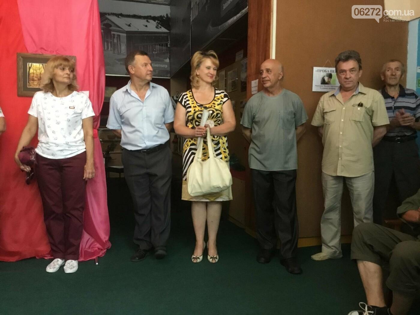 В Константиновке открылась выставка свободного художника, фото-16