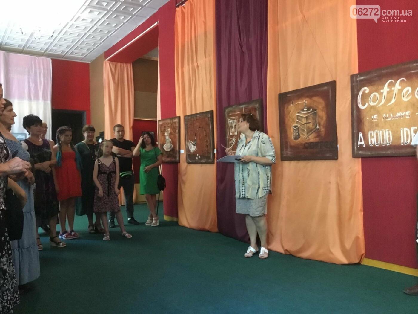 В Константиновке открылась выставка свободного художника, фото-13