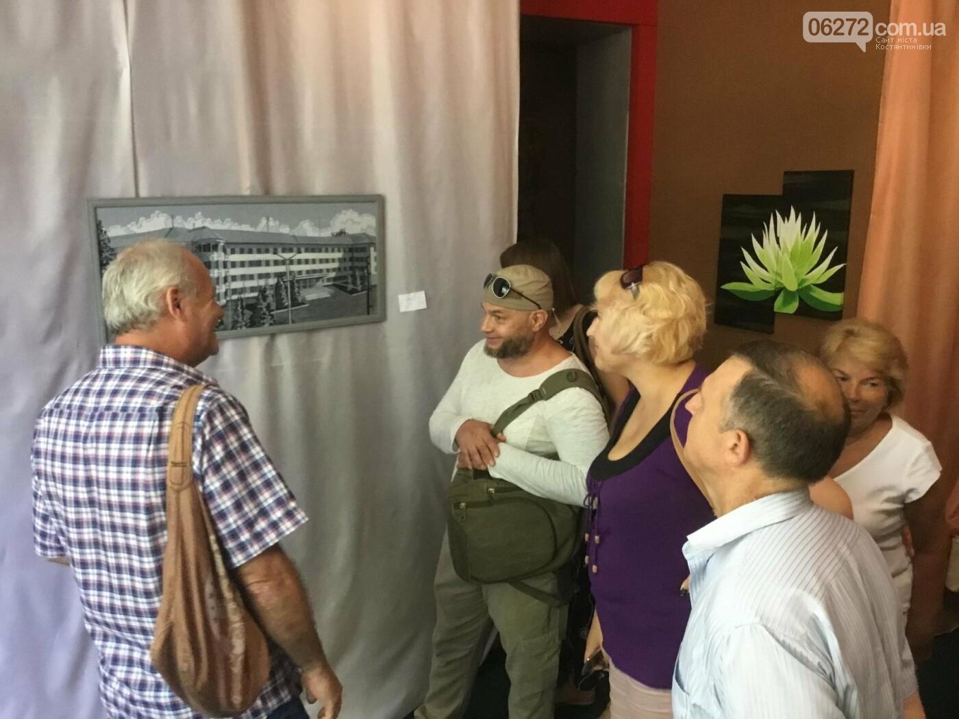 В Константиновке открылась выставка свободного художника, фото-3