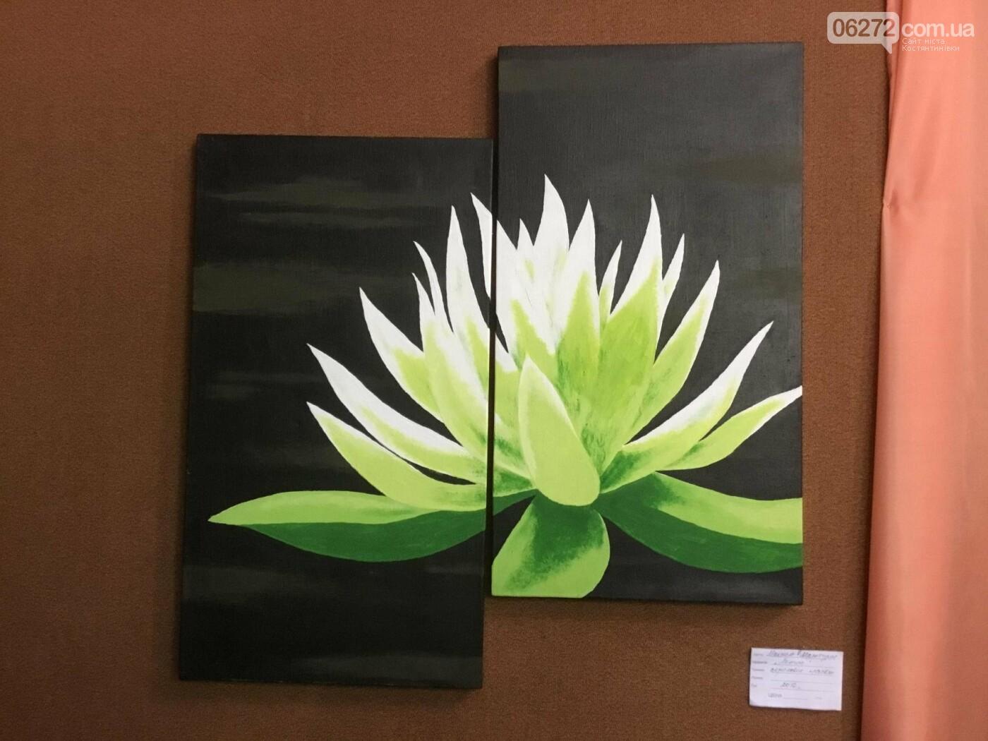 В Константиновке открылась выставка свободного художника, фото-4