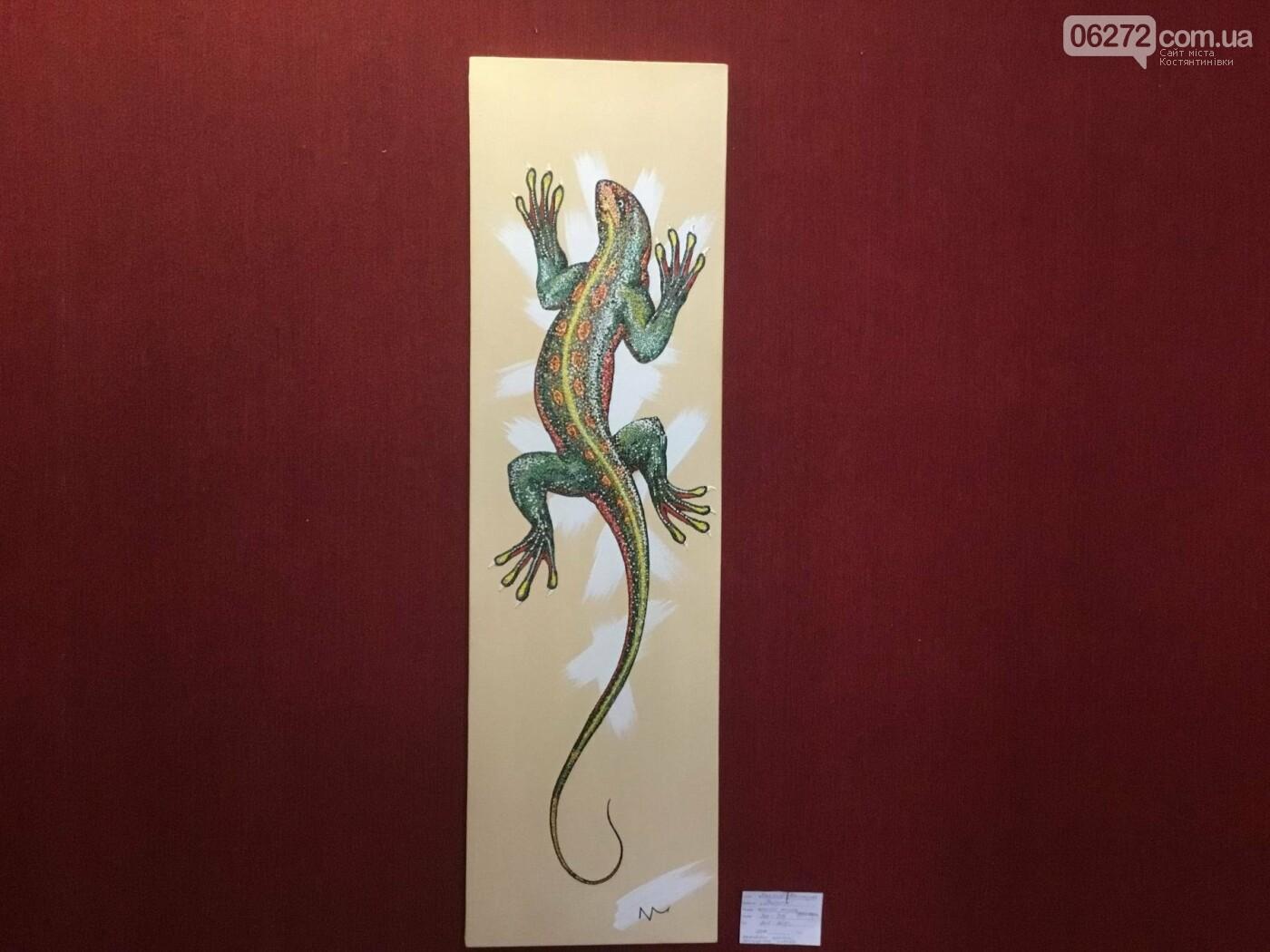 В Константиновке открылась выставка свободного художника, фото-5