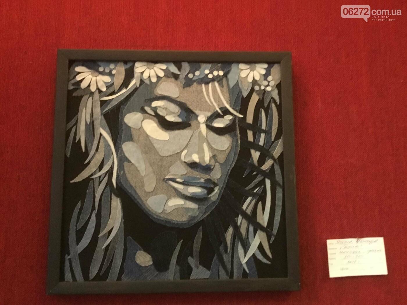 В Константиновке открылась выставка свободного художника, фото-7