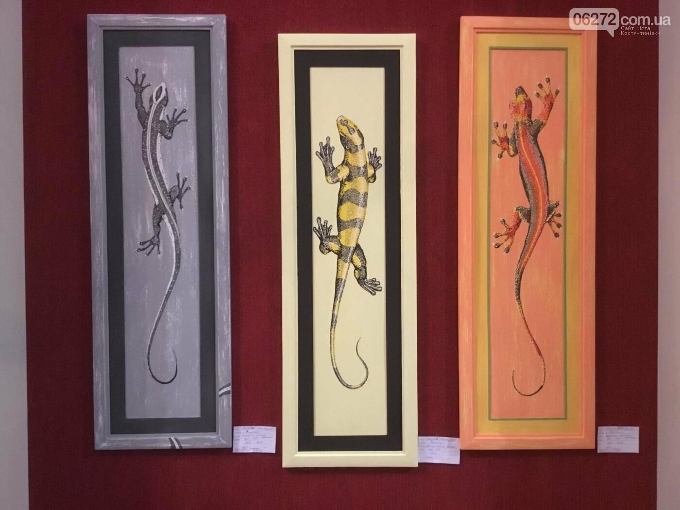 В Константиновке открылась выставка свободного художника, фото-9