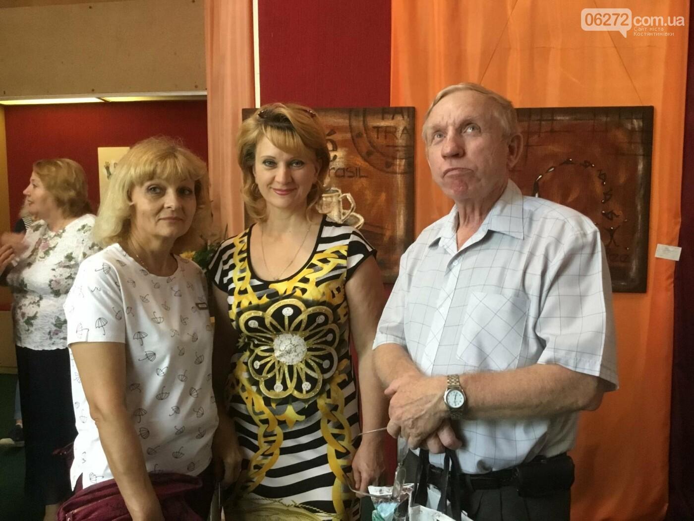 В Константиновке открылась выставка свободного художника, фото-10