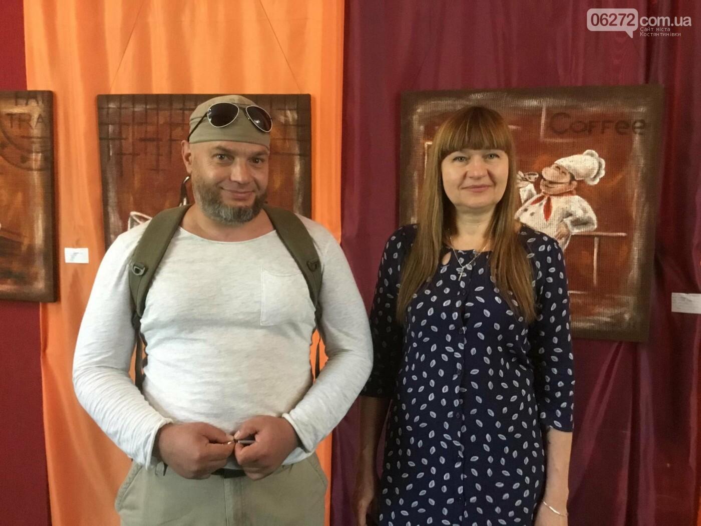 В Константиновке открылась выставка свободного художника, фото-1