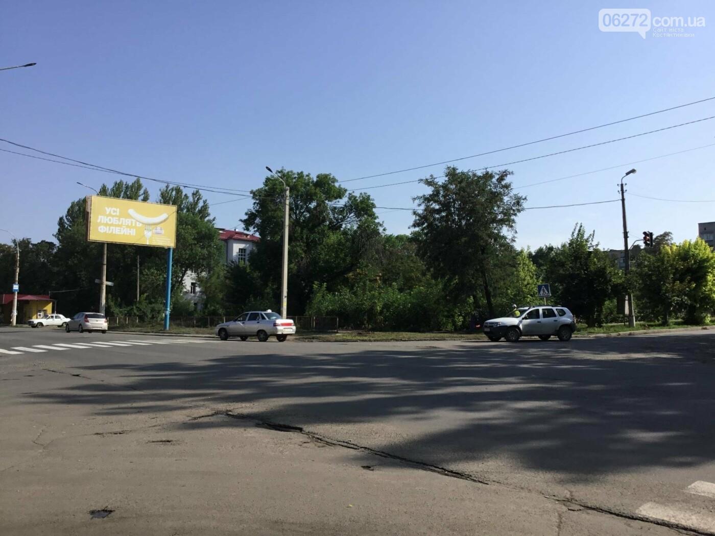 В Константиновке не работают светофоры по проспекту Ломоносова, фото-1