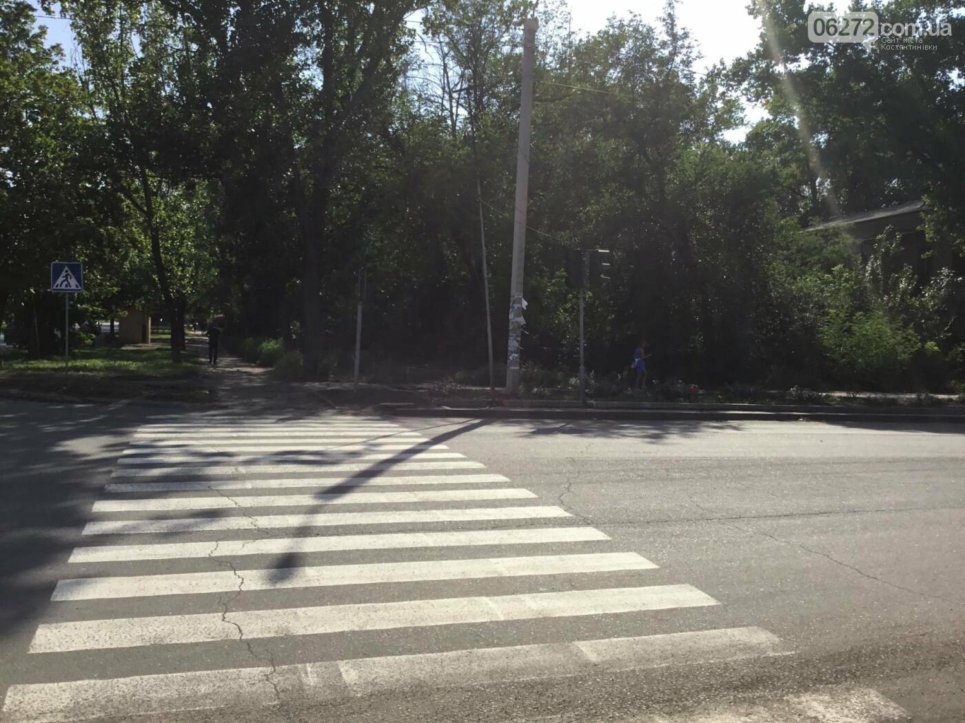 В Константиновке не работают светофоры по проспекту Ломоносова, фото-3