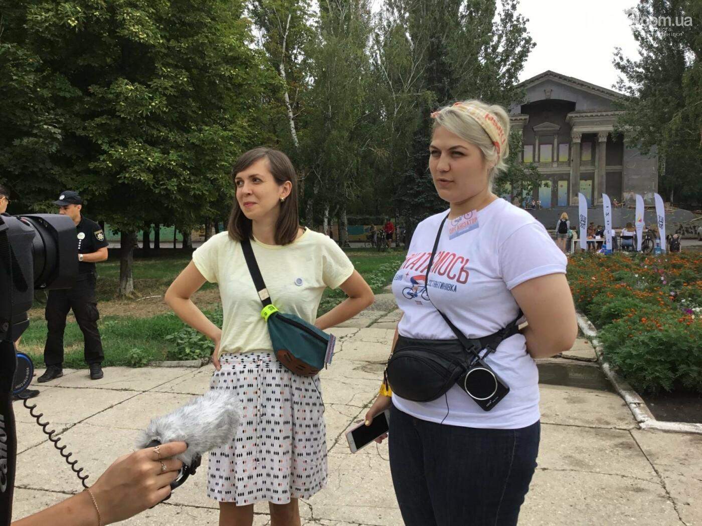 Вперше у Костянтинівці пройшов велофестиваль, фото-3