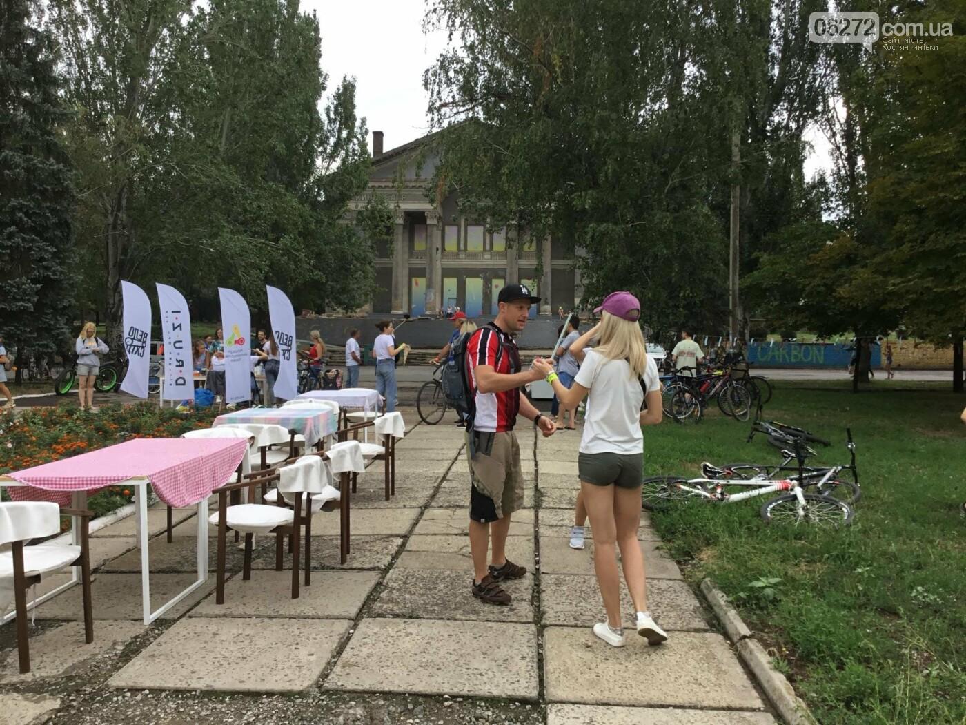 Вперше у Костянтинівці пройшов велофестиваль, фото-5