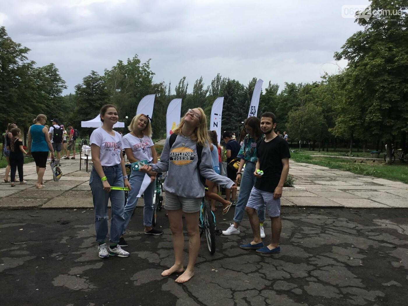 Вперше у Костянтинівці пройшов велофестиваль, фото-9