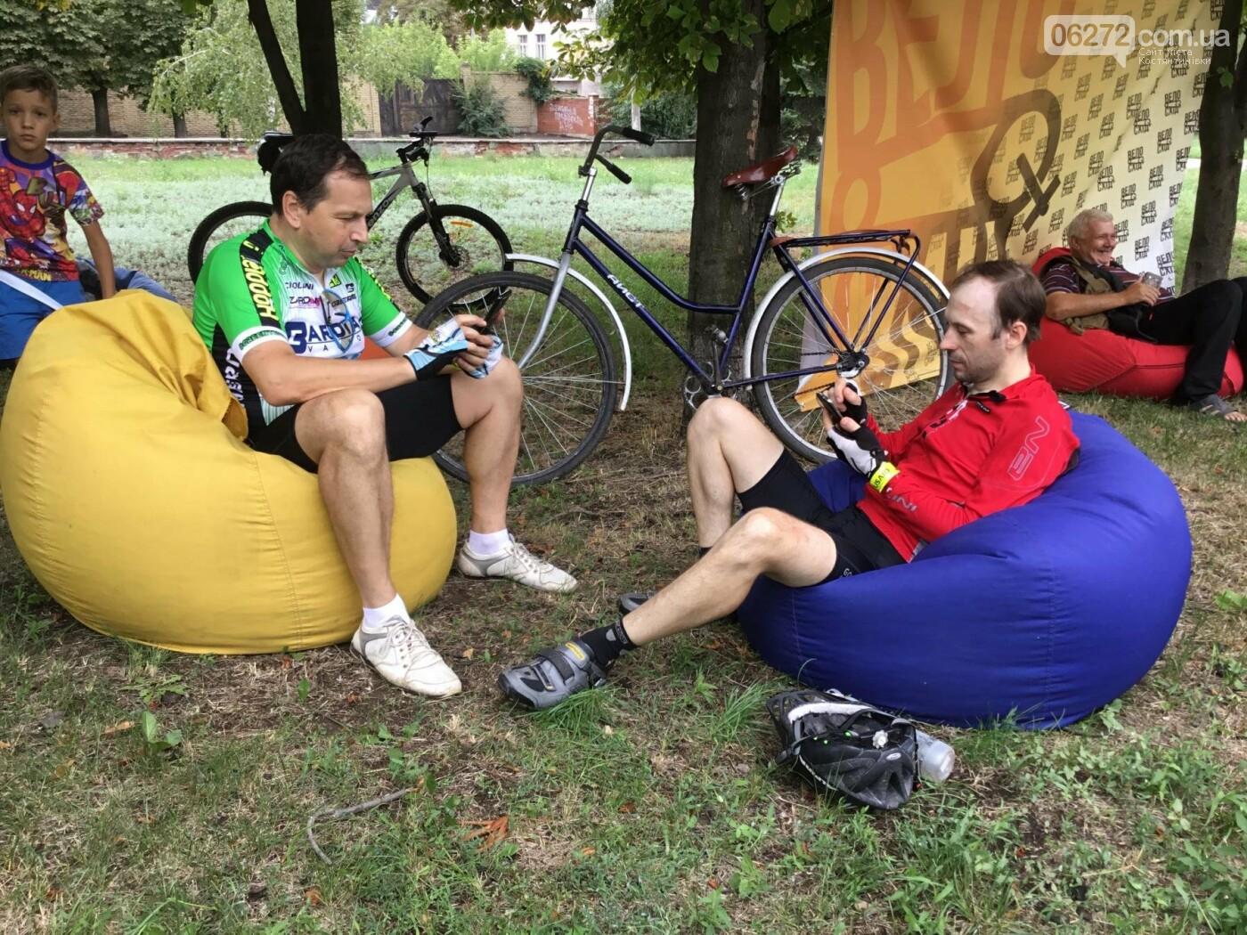 Вперше у Костянтинівці пройшов велофестиваль, фото-23