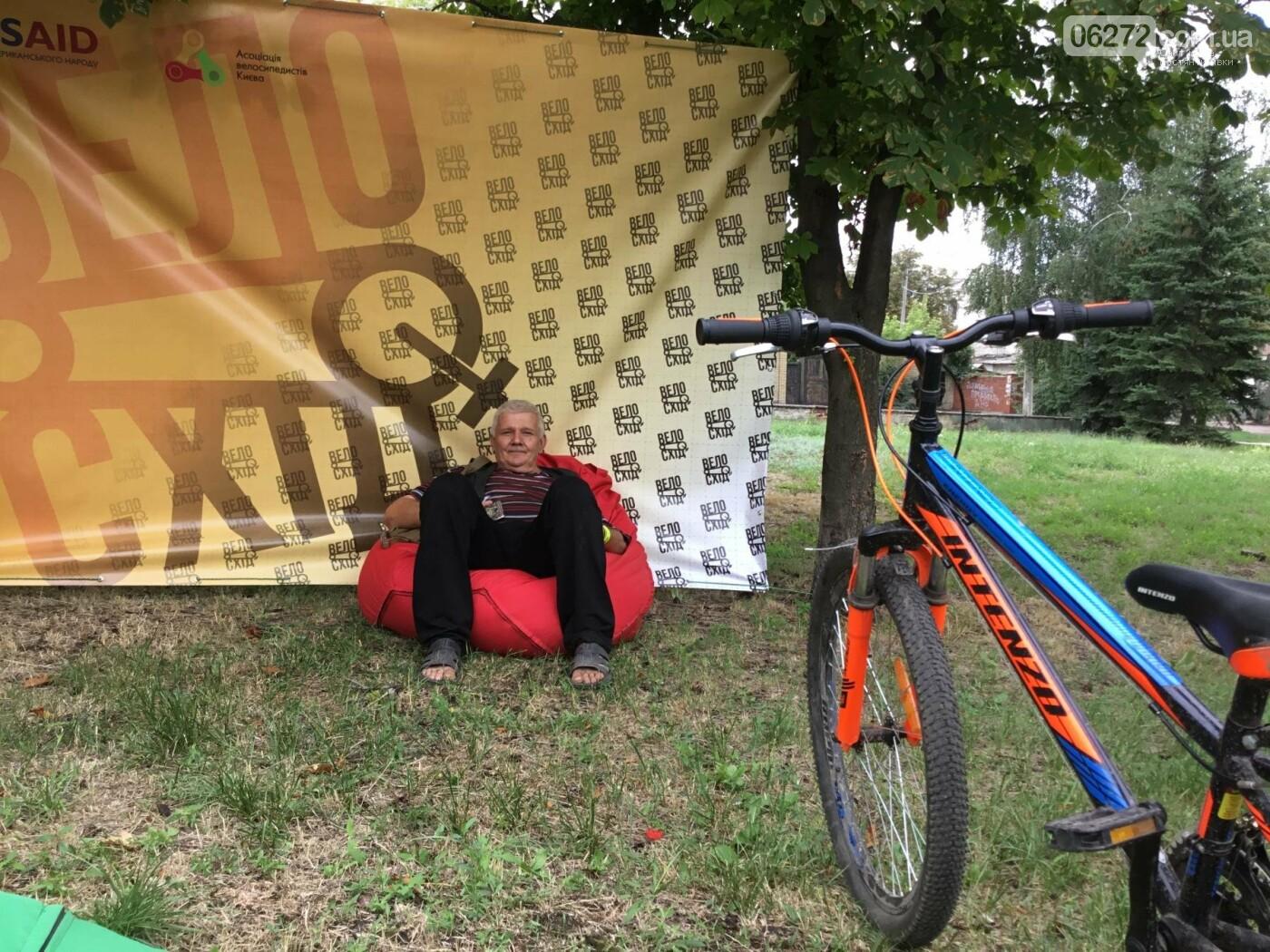Вперше у Костянтинівці пройшов велофестиваль, фото-17