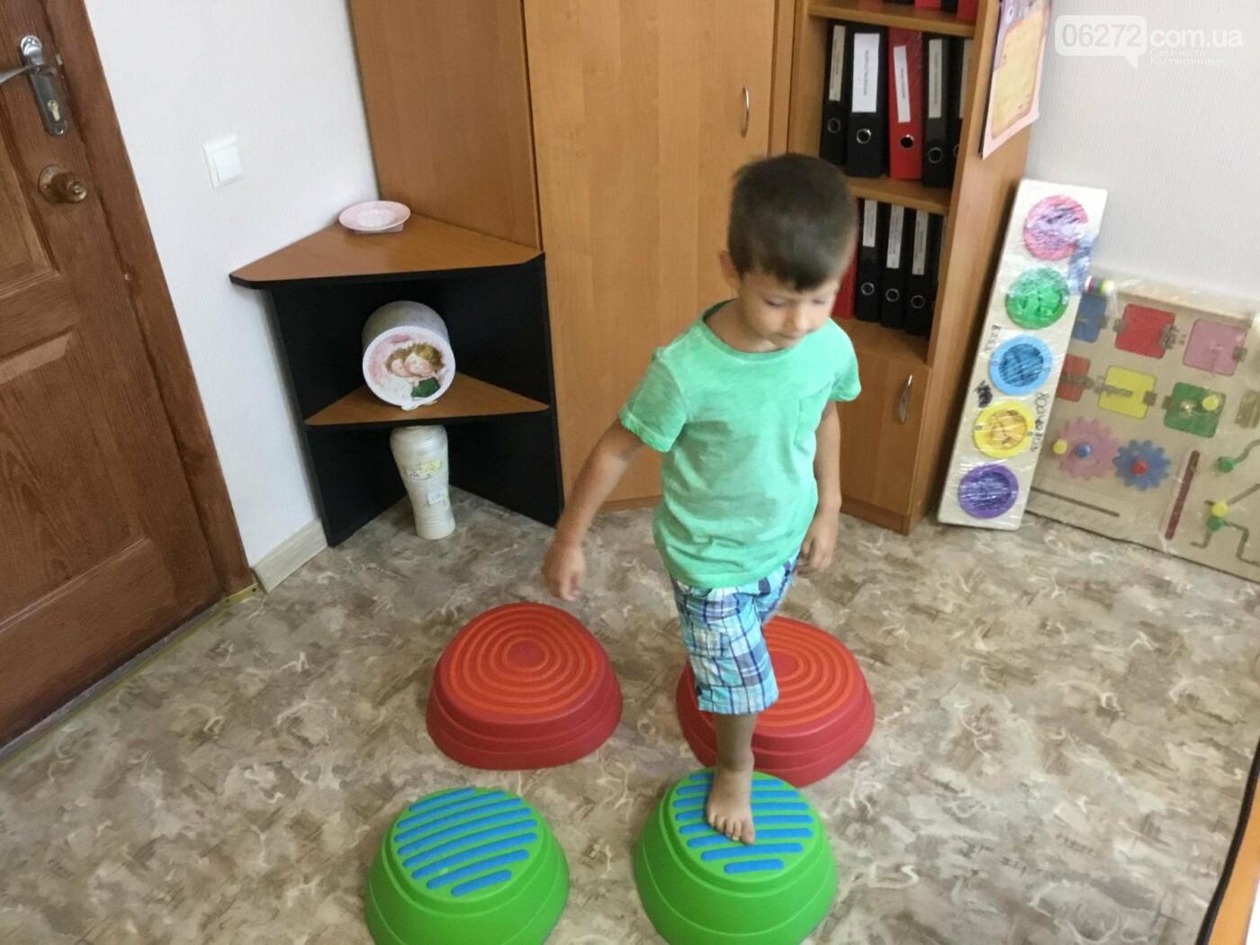 У Костянтинівці в дитячій інклюзивній групі з'явилось сучасне обладнання, фото-7