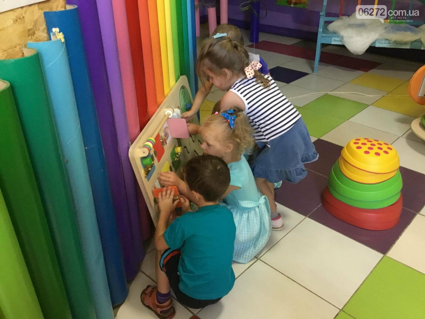 У Костянтинівці в дитячій інклюзивній групі з'явилось сучасне обладнання, фото-9