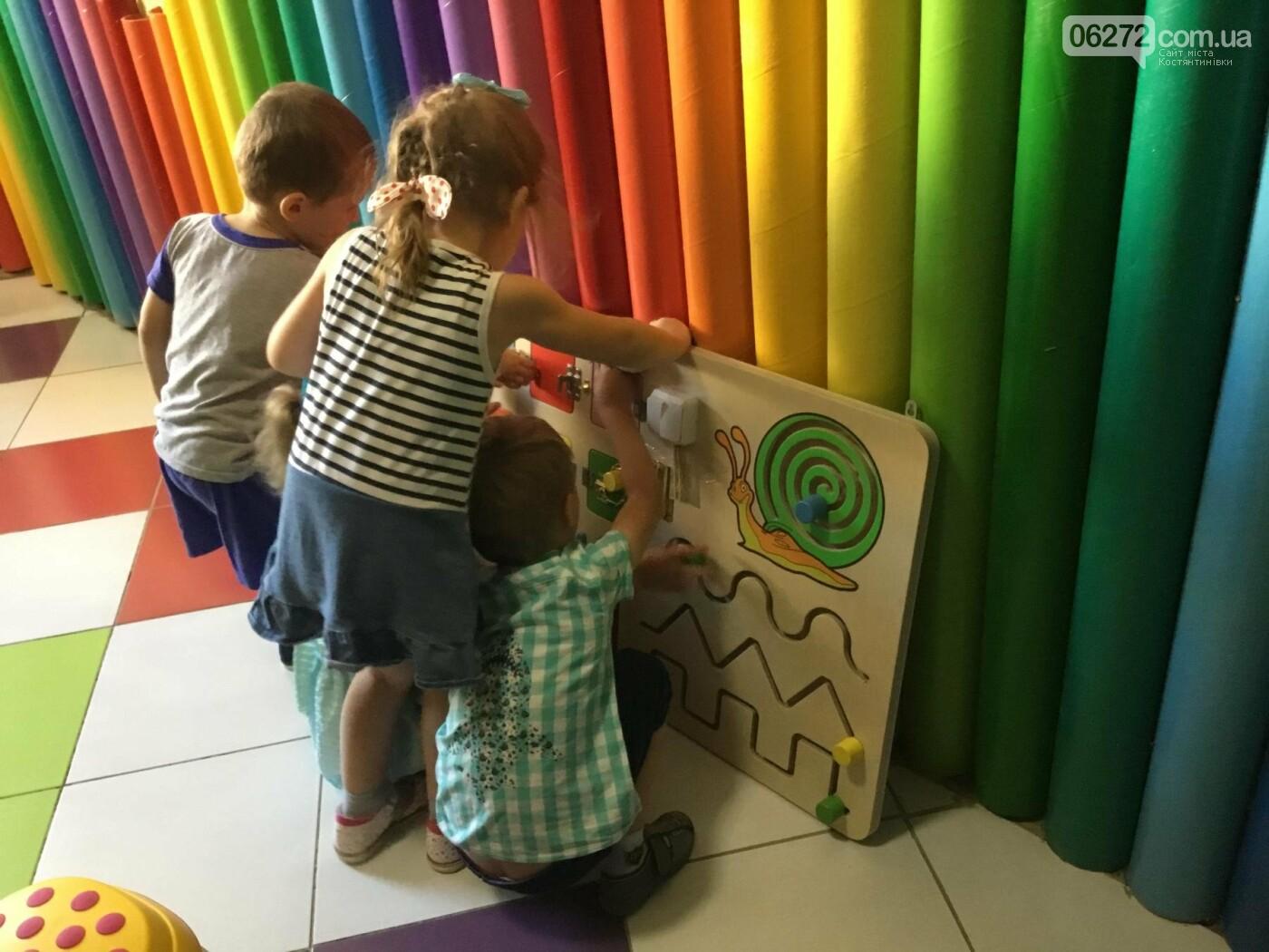У Костянтинівці в дитячій інклюзивній групі з'явилось сучасне обладнання, фото-15
