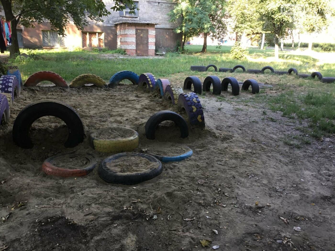 На пр. Ломоносова появилась детская площадка, созданная жителями Константиновки, фото-3