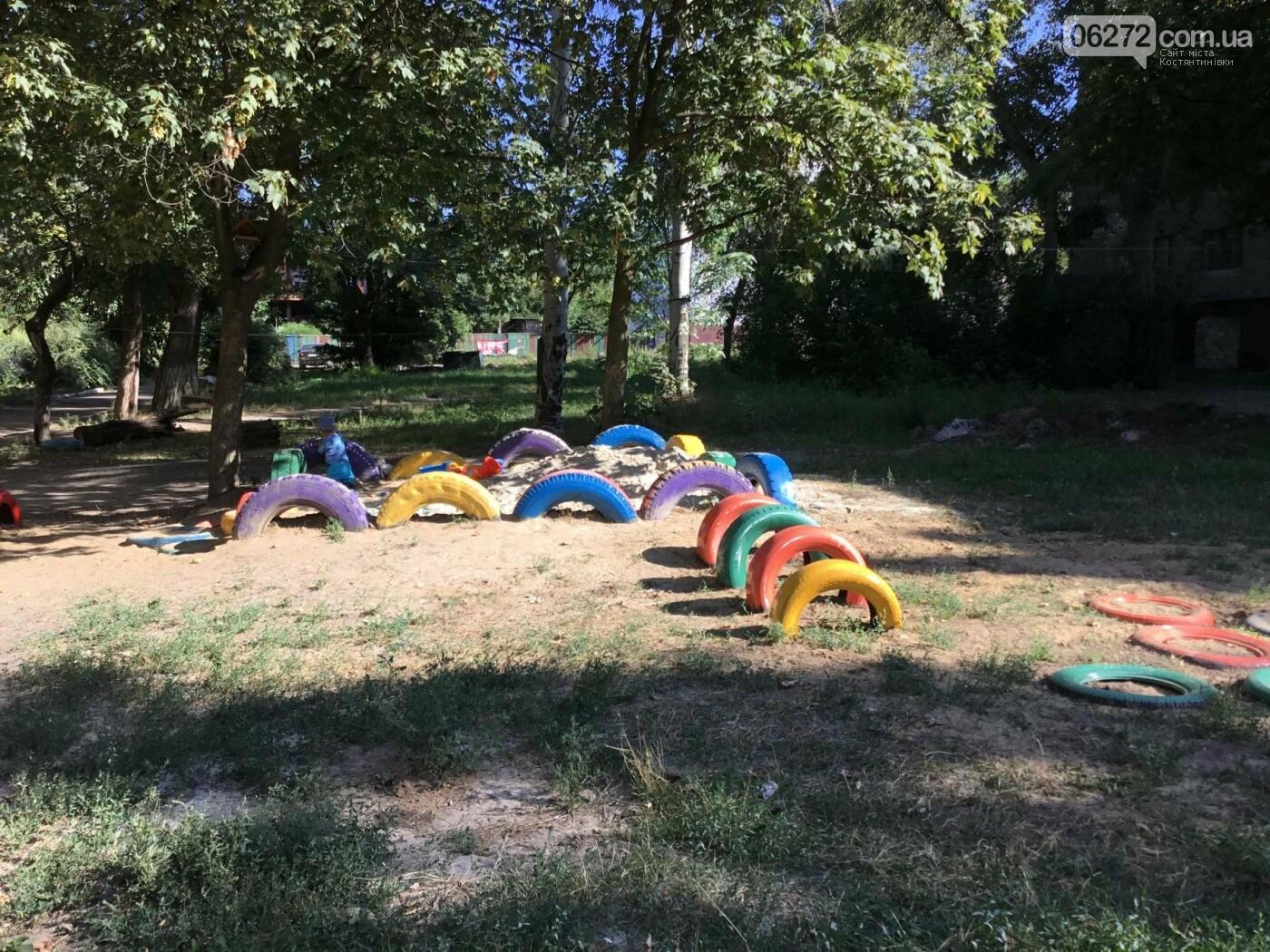 На пр. Ломоносова появилась детская площадка, созданная жителями Константиновки, фото-8