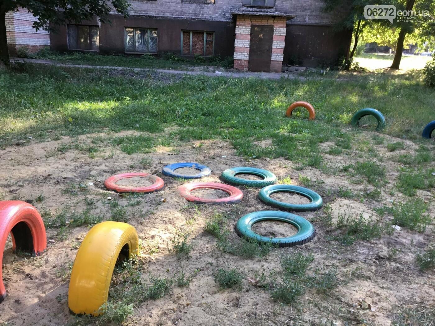 На пр. Ломоносова появилась детская площадка, созданная жителями Константиновки, фото-9