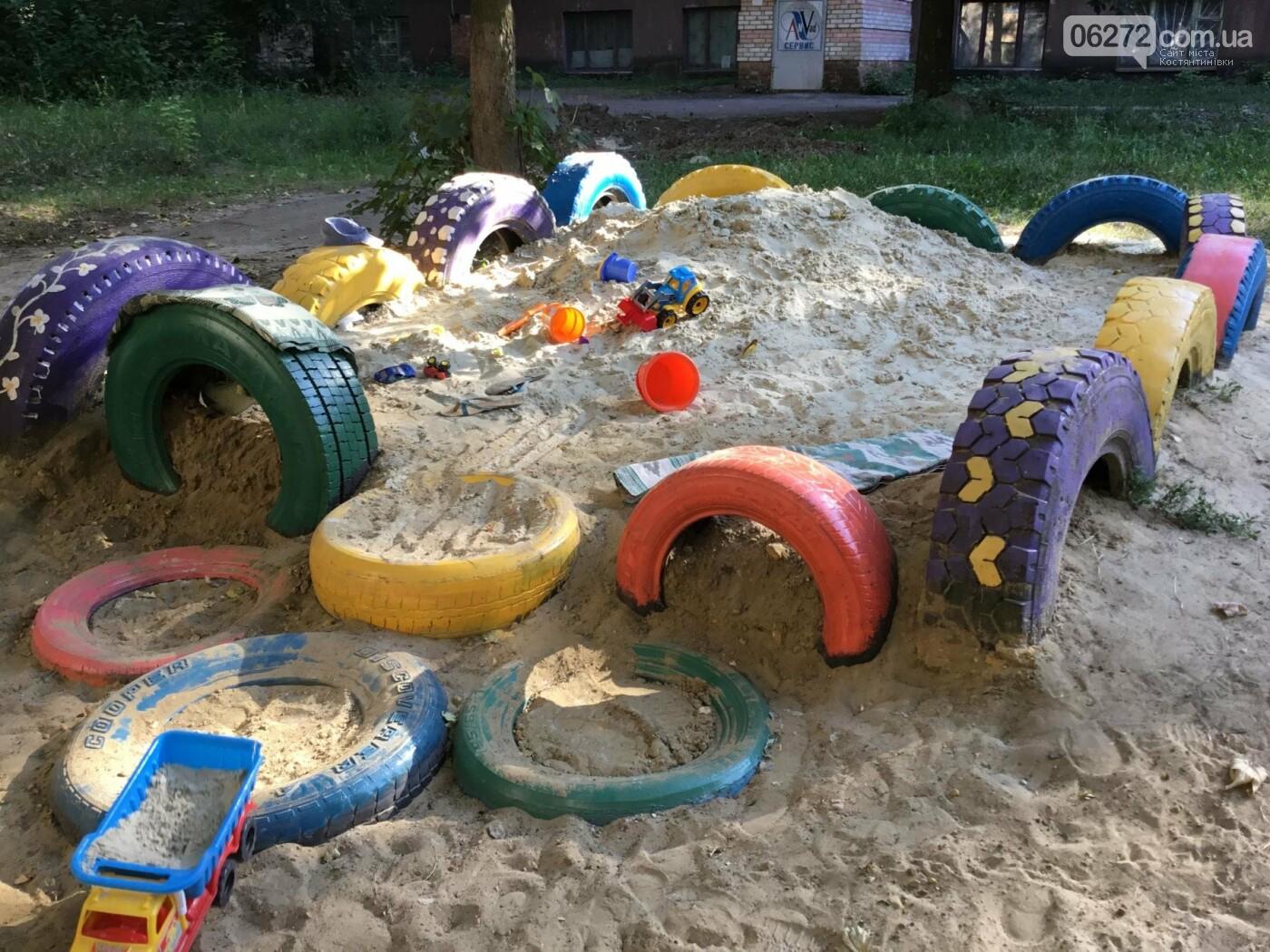 На пр. Ломоносова появилась детская площадка, созданная жителями Константиновки, фото-6