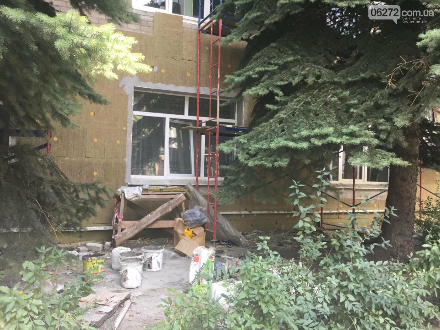 У Костянтинівській дитячій лікарні продовжується ремонт, фото-1