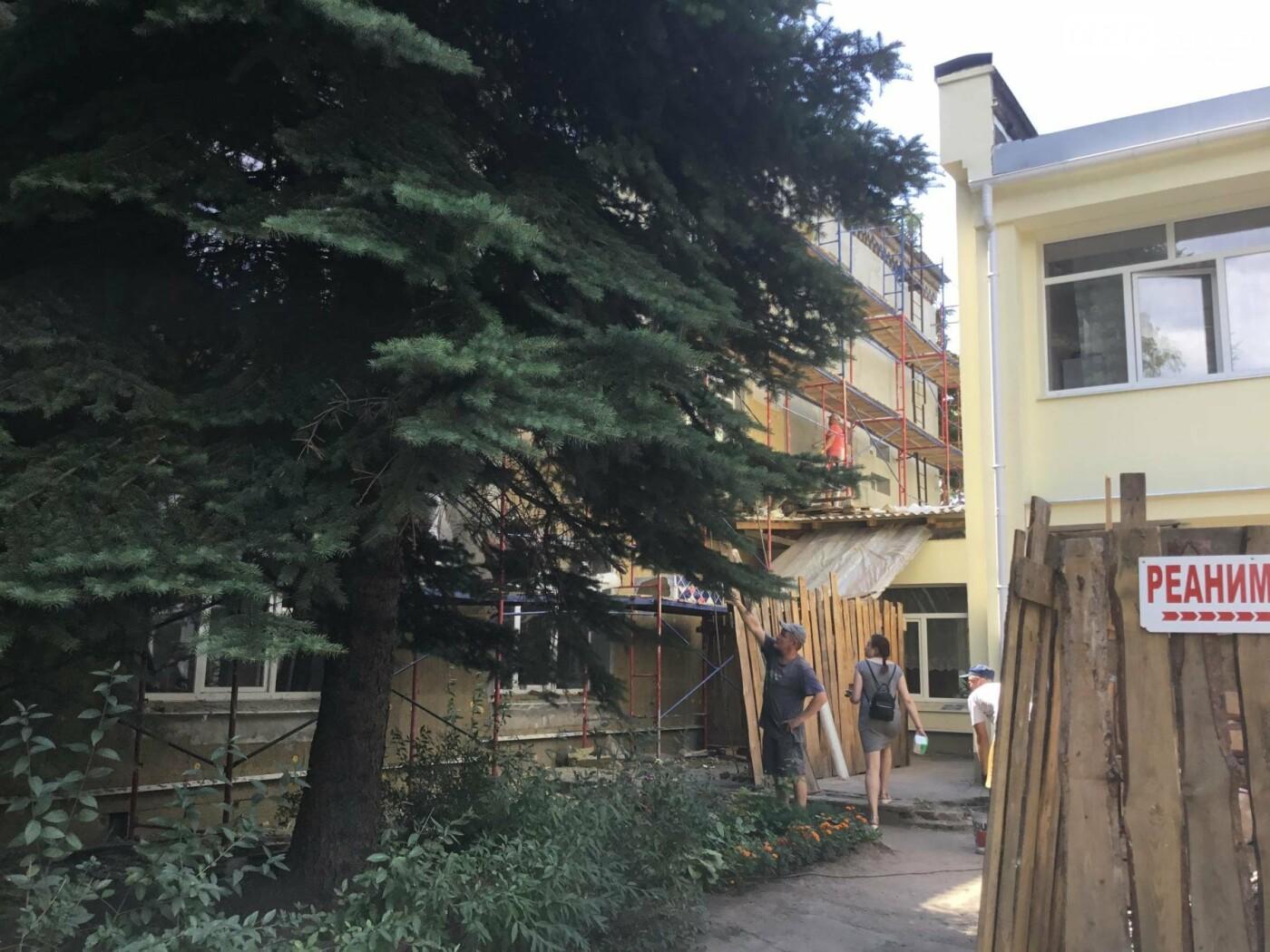 У Костянтинівській дитячій лікарні продовжується ремонт, фото-3