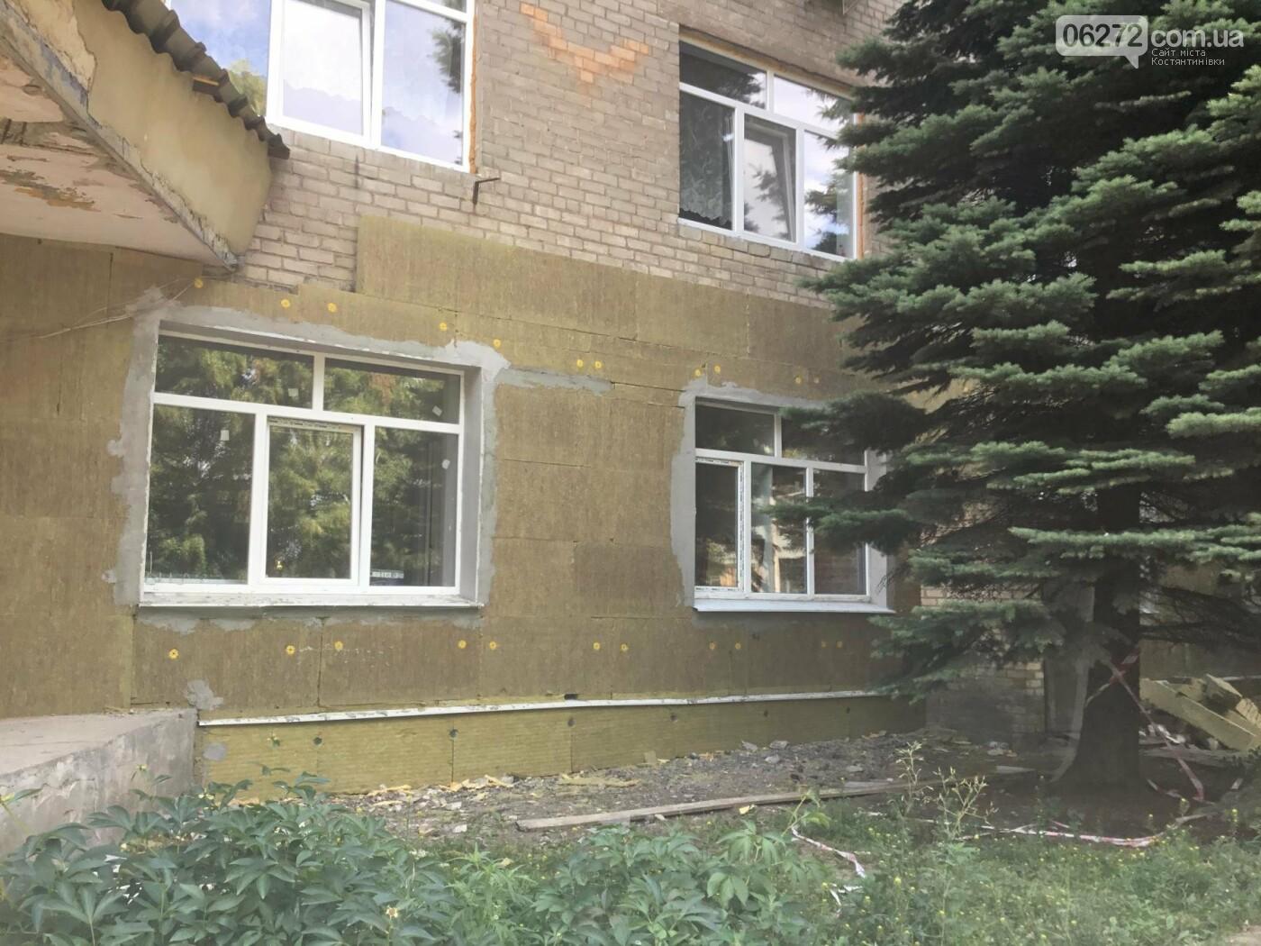 У Костянтинівській дитячій лікарні продовжується ремонт, фото-4