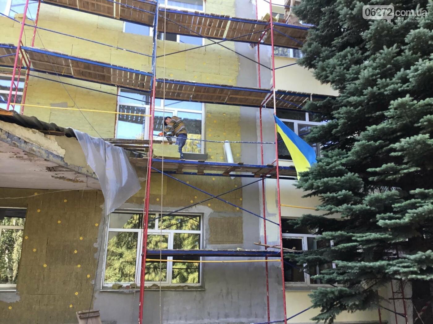 У Костянтинівській дитячій лікарні продовжується ремонт, фото-7