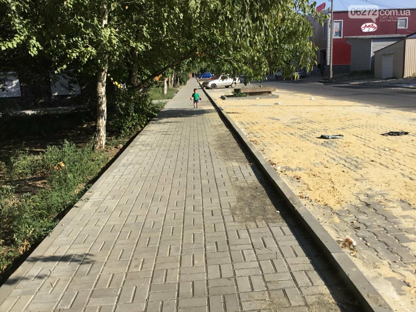 Дорога после ремонта по ул. Леваневского в Константиновке, фото-20