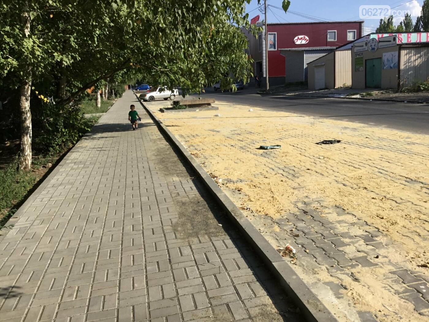 Дорога после ремонта по ул. Леваневского в Константиновке, фото-17
