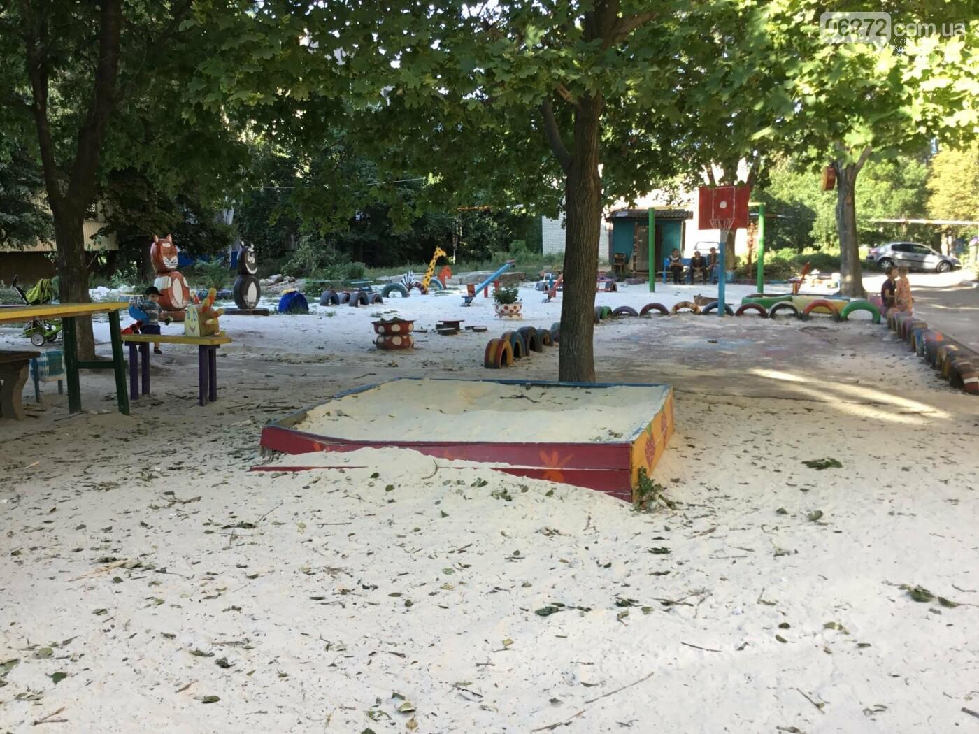В Константиновке по ул. Безнощенко молодежь сделала спортивную площадку для детей, фото-7