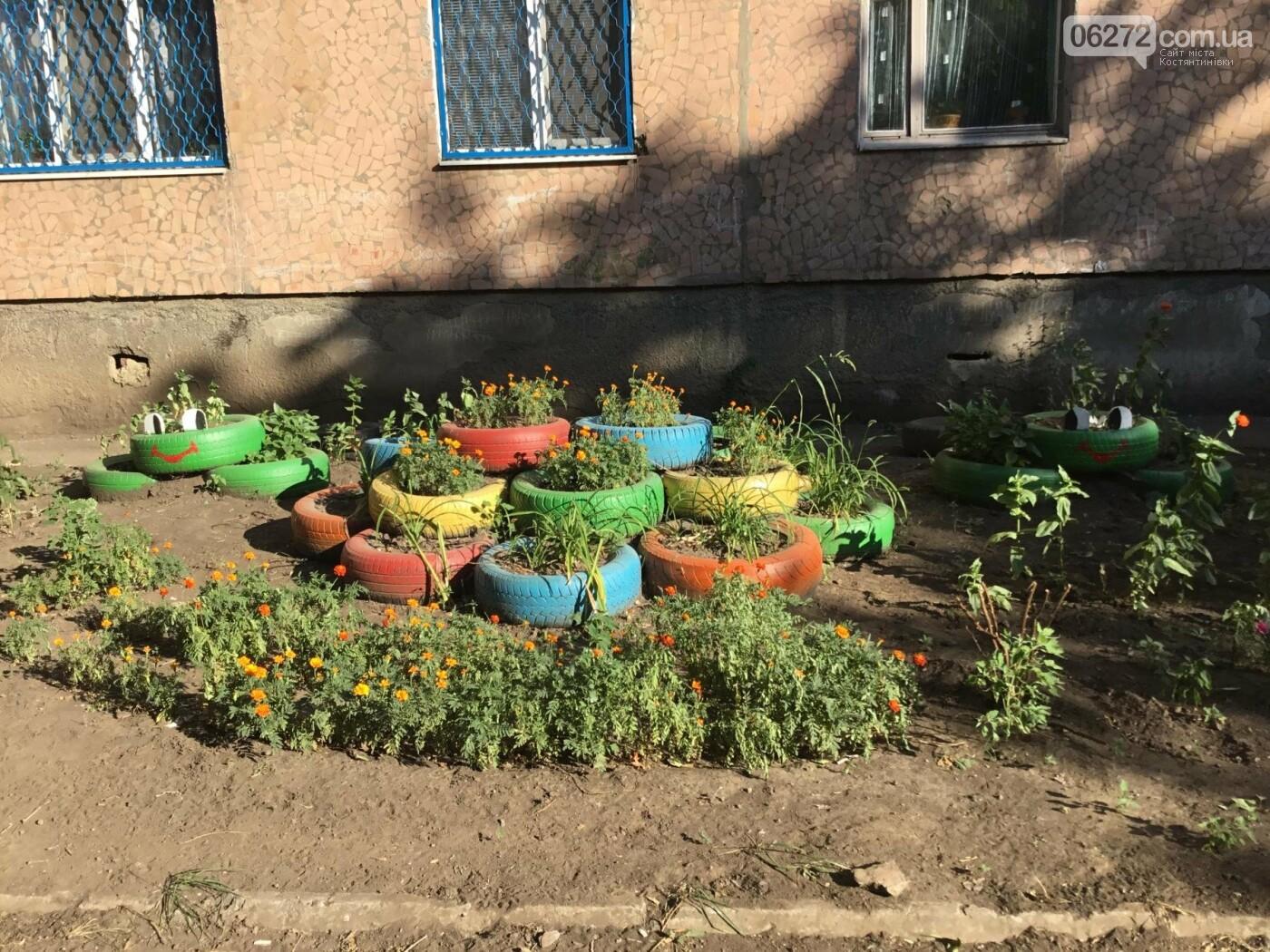 В Константиновке по ул. Безнощенко молодежь сделала спортивную площадку для детей, фото-26