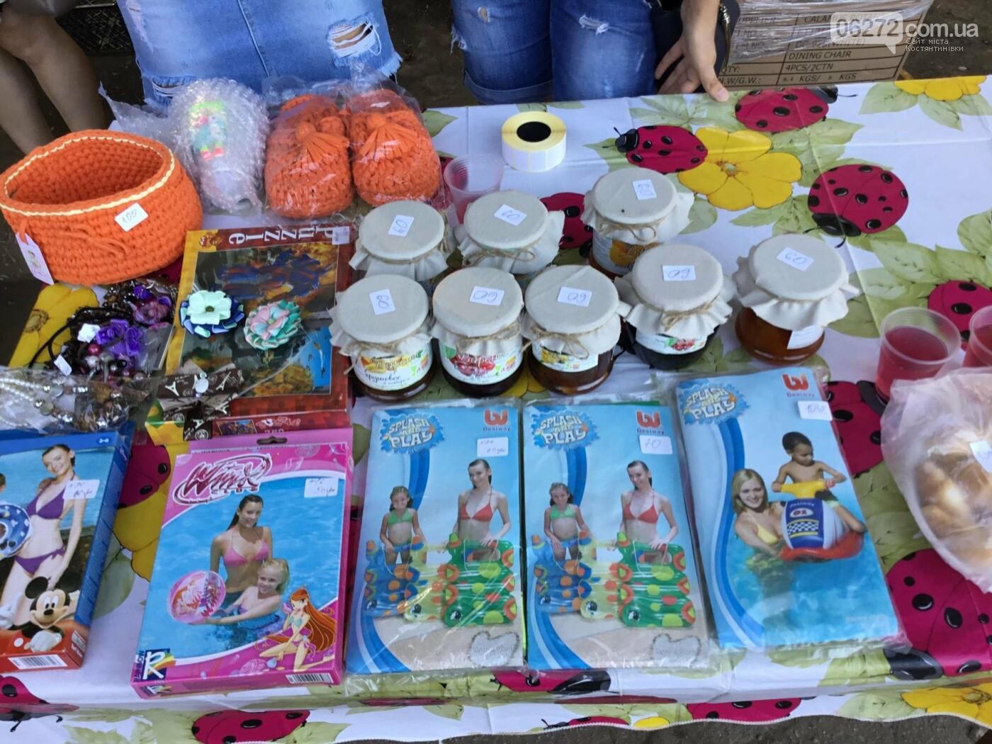 Вчера в Константиновке состоялся благотворительный праздник для детей (видео), фото-5