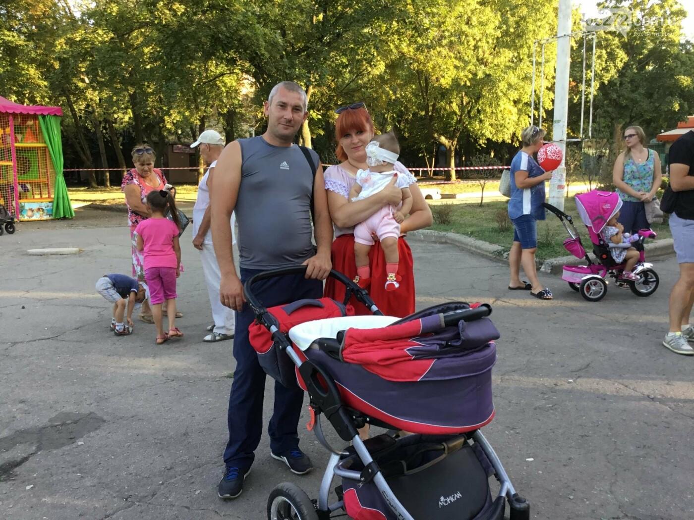 Вчера в Константиновке состоялся благотворительный праздник для детей (видео), фото-16